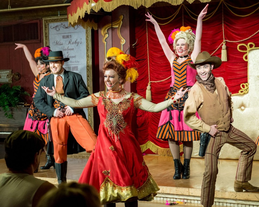 MISS RUBY'S WILD WEST CABARET AT SIX FLAGS OVER TEXAS